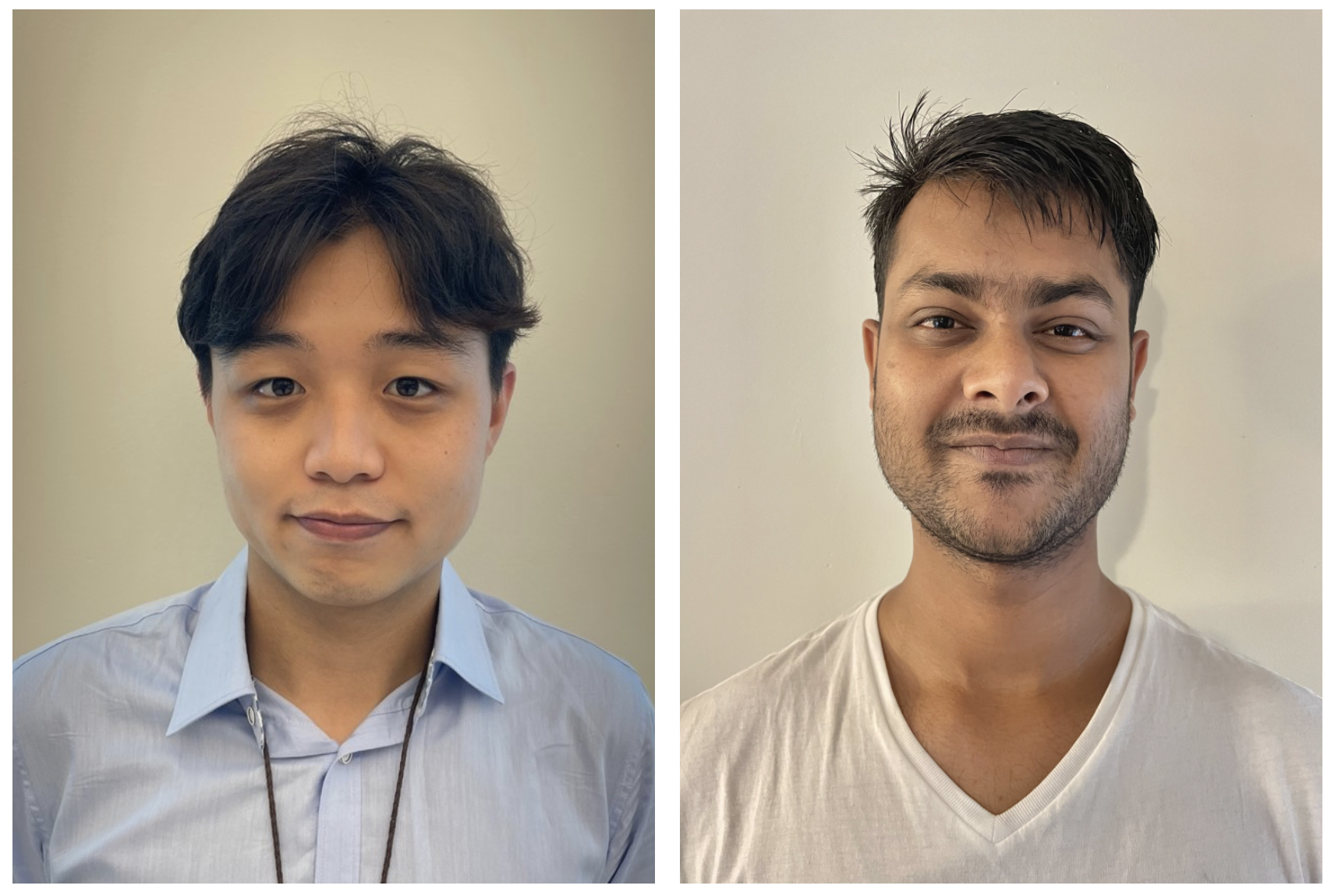 New doctoral trainees Jae Young Park and Ankit Shah join LIMR!