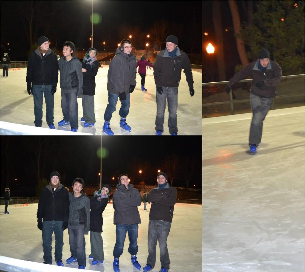 February 2013 Ice Skating