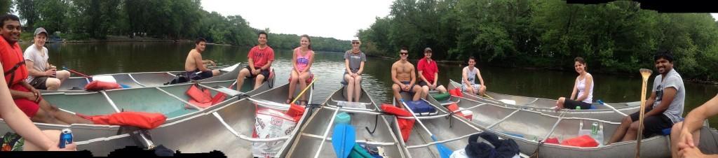2014 Canoeing