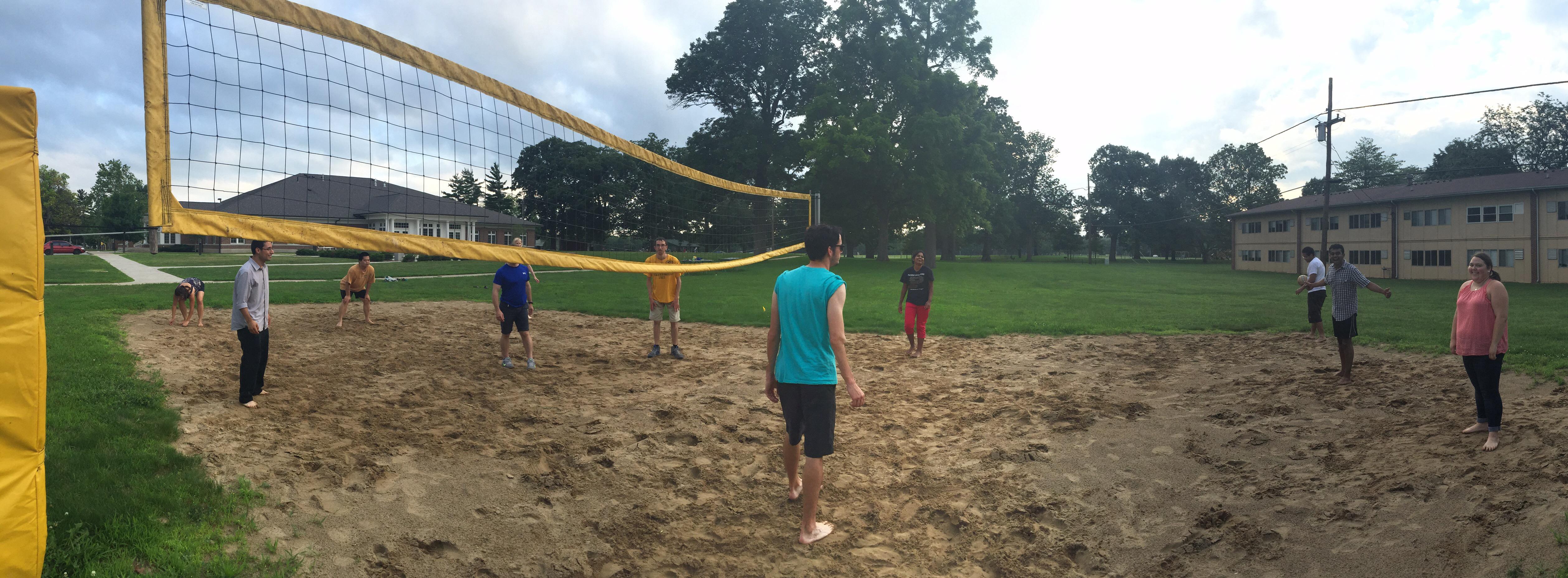 11 sand vball