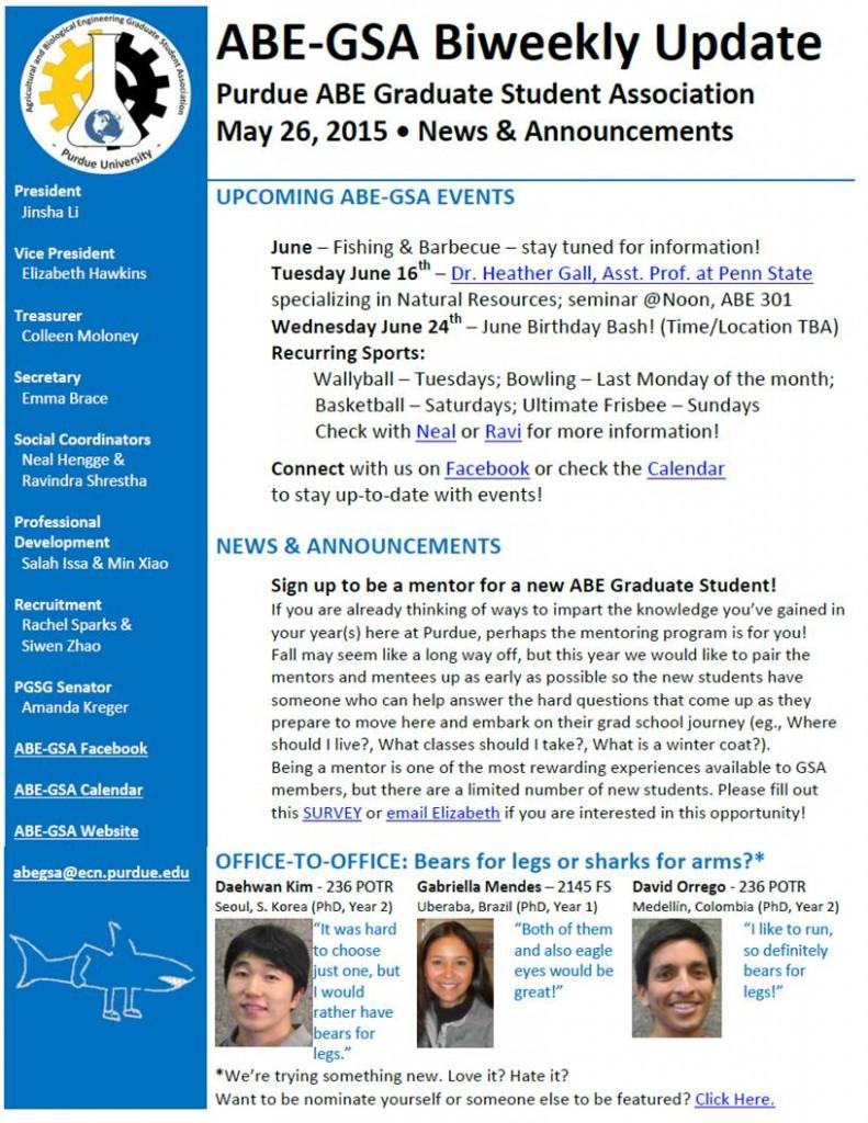 ABE GSA Newsletter 052615