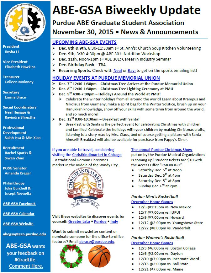 Newsletter 113015