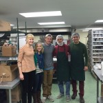 Soup Kitchen Volunteering - December 2015