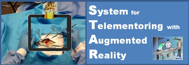 STAR: System for Telementoring with Augmented Reality