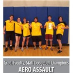 Aero Assault - 2012 IM Dodgeball Champions!