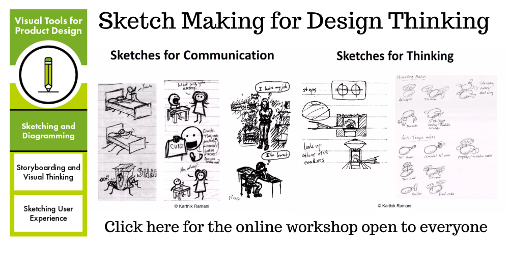 Sketch Making for Design Thinking