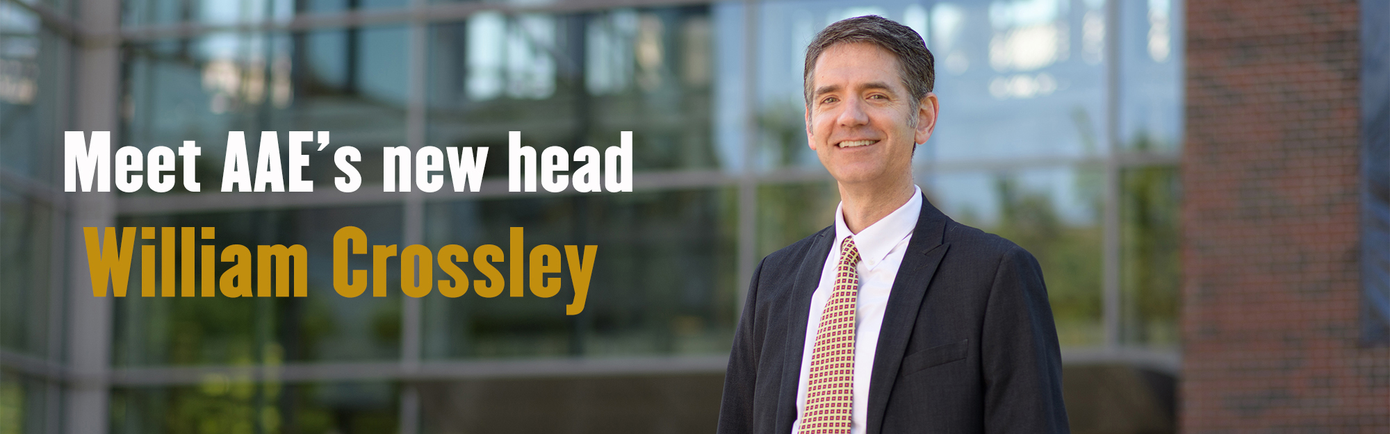 Meet AAE's New Head - William Crossley