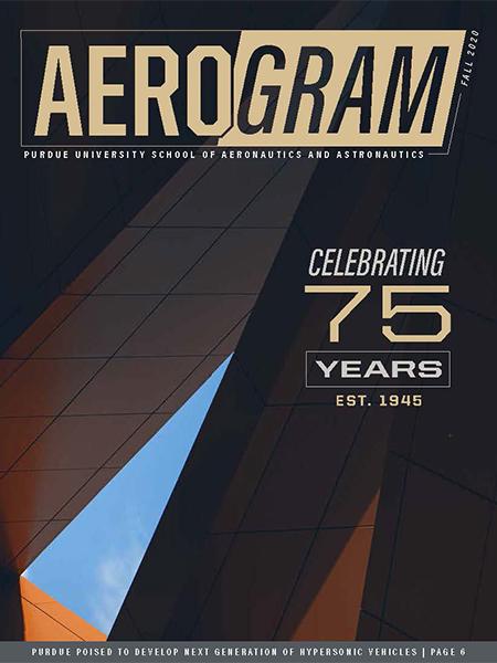 Aerogram: Fall 2020 cover
