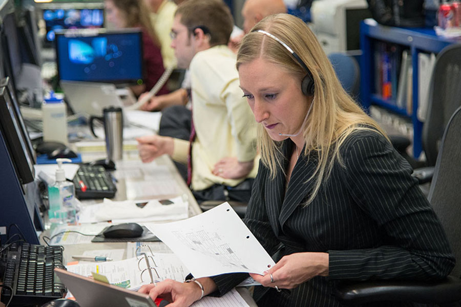 Boiler Up - Allison Bolinger chosen to become Flight Director