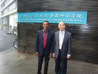 Drs. Irudayaraj and Ni at the College of Biosystems Engineering and Food Science, Zhejiang University, China