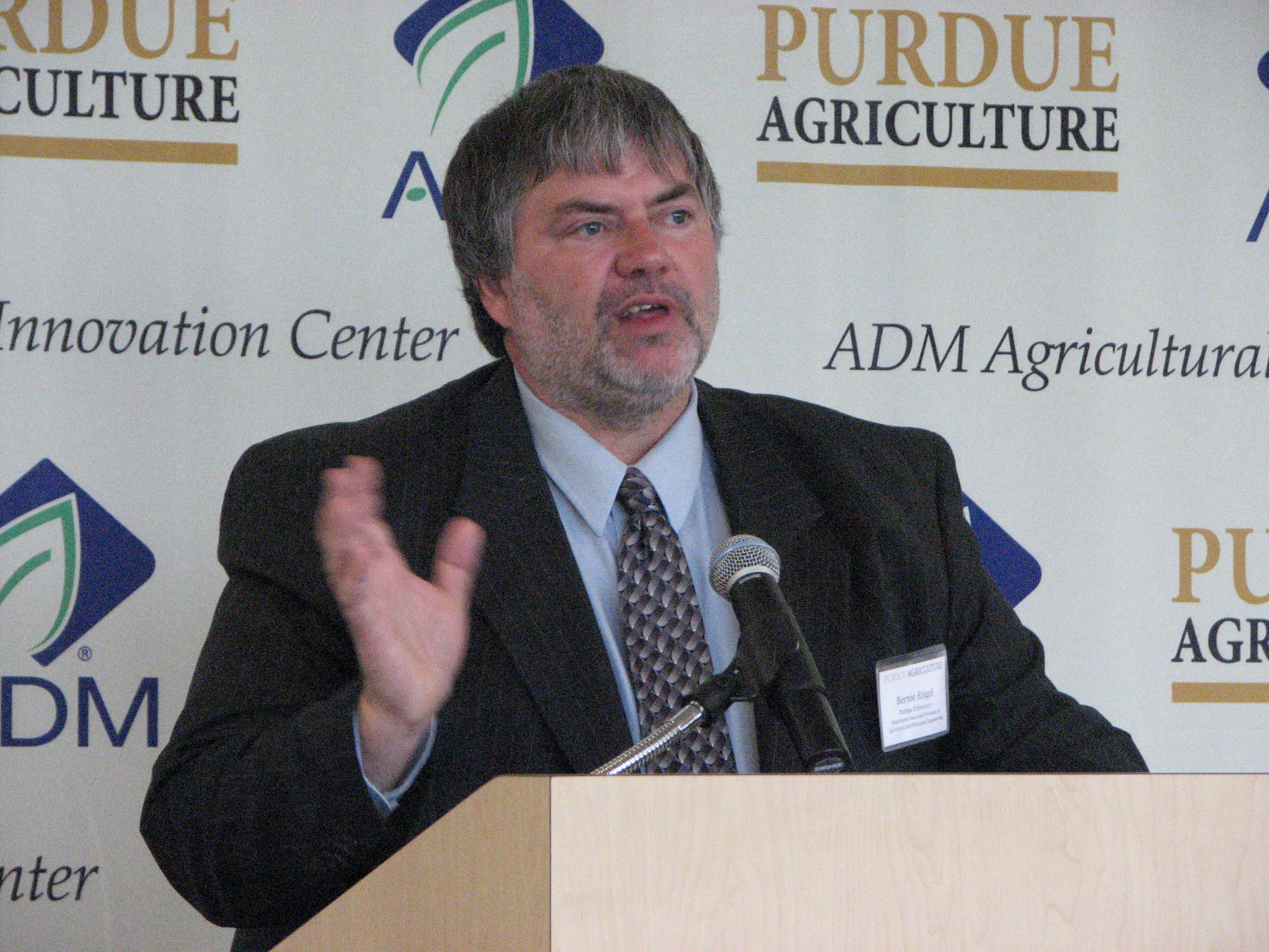 ABE Department Head Bernie Engel