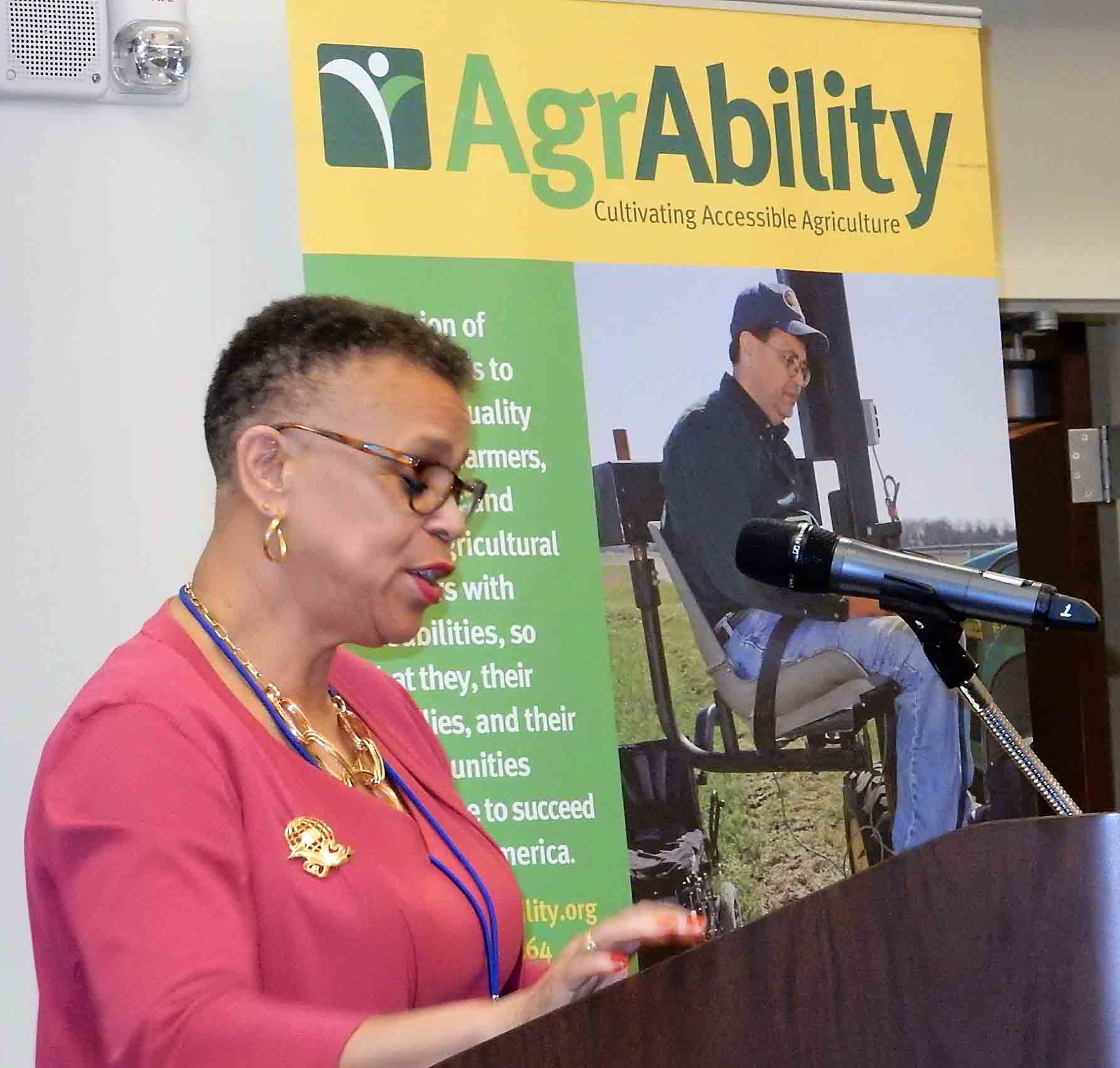 Dr. Shirley Hymon-Parker, Interim Dean, College of Agriculture and Environmental Sciences, NCA&T