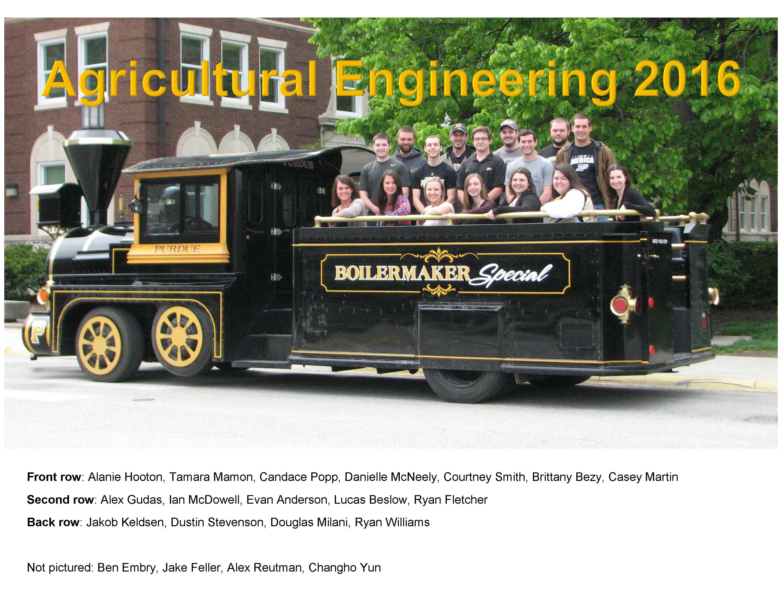 ABE Newsletter Agricultural & Biological Engineering Purdue
