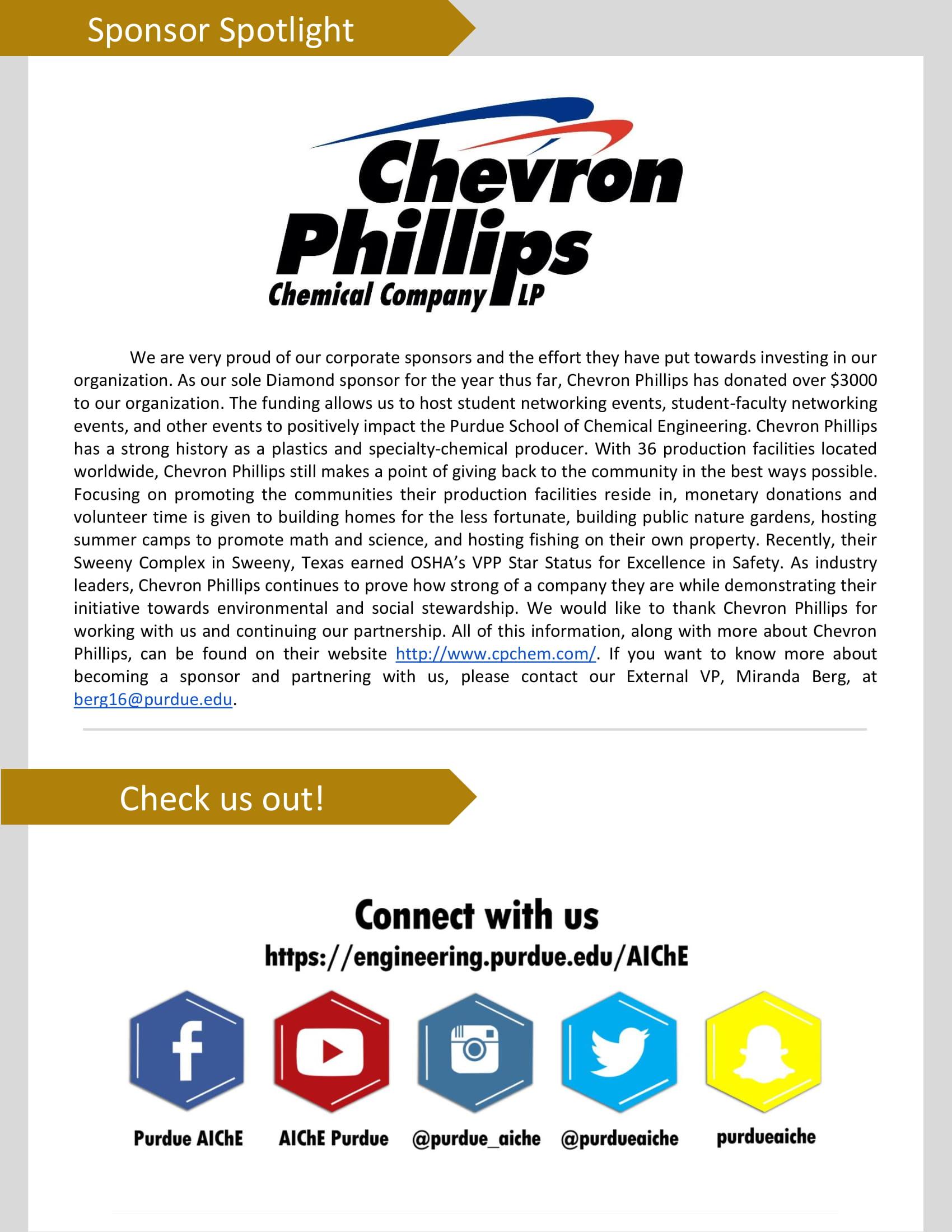 Newsletter - Purdue AIChE