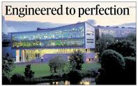 The new engineering building at Galway