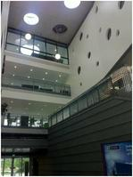 Interior view of Galway new engineering building
