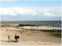 The beach at Galway Bay