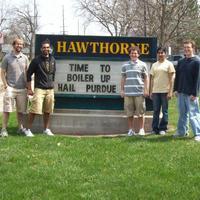 BME Undergraduates at Hawthorne Elementary School