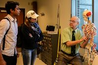 View larger image of Dr. Charles Babbs with students