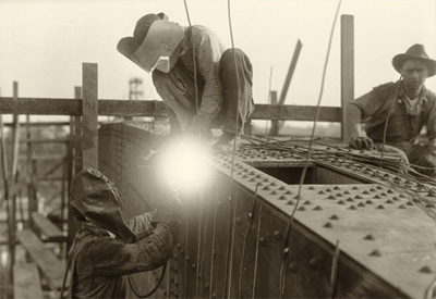 Image result for bridge welder pictures
