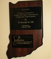 Indiana plaque