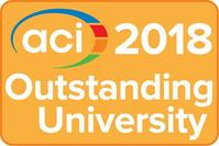 ACI Outstanding University Award logo