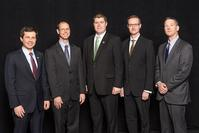 Tuesday's Opening Session Speakers: Pete Buttigieg, Darcy Bullock, Joe McGuinness, Bill Hanna, and John Haddock