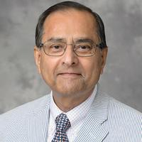 Kumares Sinha, the Edgar B. and Hedwig M. Olson Distinguished Professor of Civil Engineering