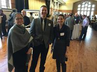 Professors Marika Santagata, John Haddock, and Nadia Gkritza