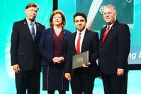 Tariq Saeed receives 2017 APTF Board Scholarship