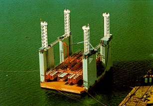 Floating caissons for Caisson maritime