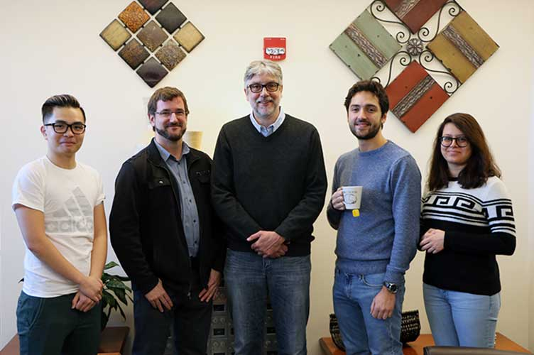 Photo of Olaf Sporns & CONNplexity Lab members