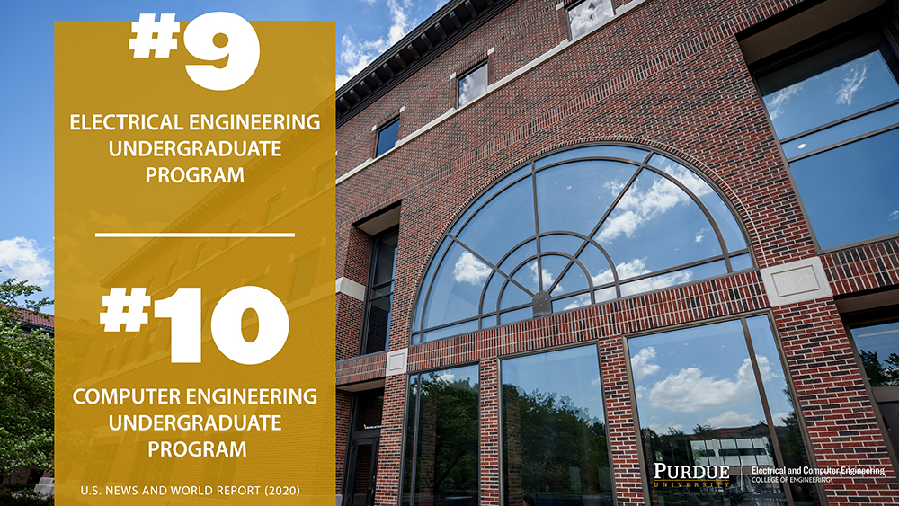 Us News World Report Announces 2020 Undergrad Program Rankings Electrical And Computer Engineering Purdue University