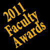 2011 Faculty awards logo