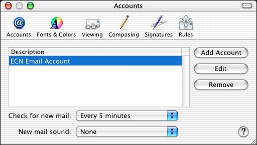how to add purdue email to mac