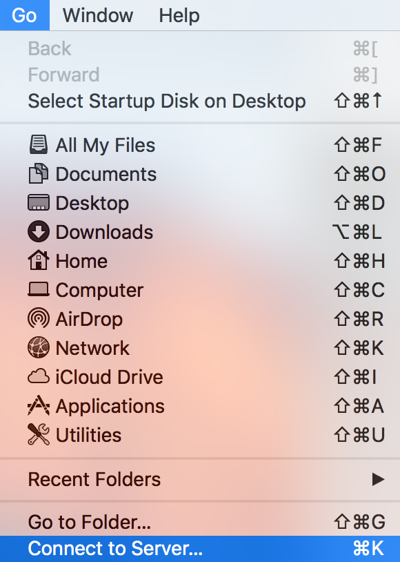 Screenshot of Mac's Finder window.