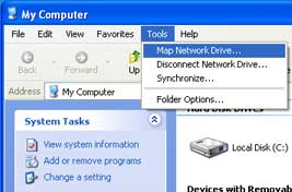 Mapping ECN Network Drive using Windows XP - Engineering