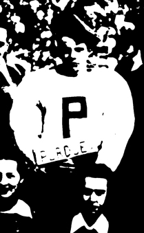 First photograph of Purdue Pete in the 1948 yearbook.