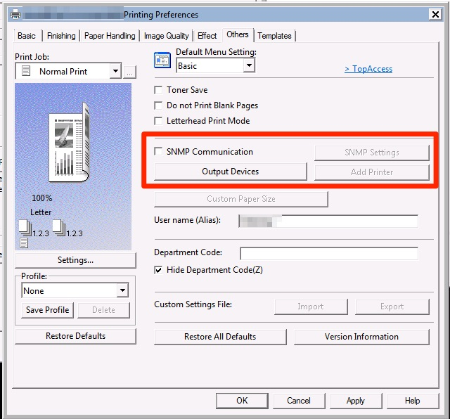 Windows Printing: Slow/Hanging Print Jobs (Toshiba Printers
