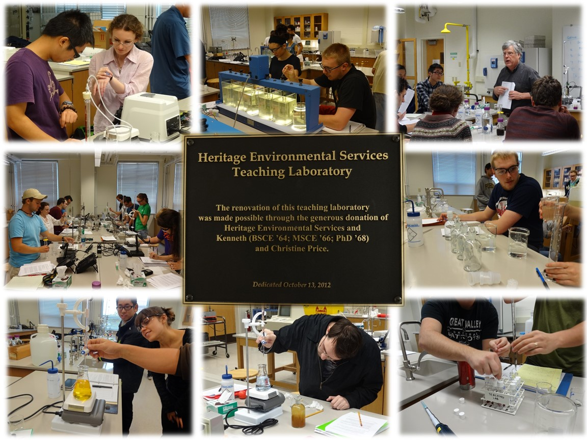 Heritage Environmental Engineering Teaching Labratory