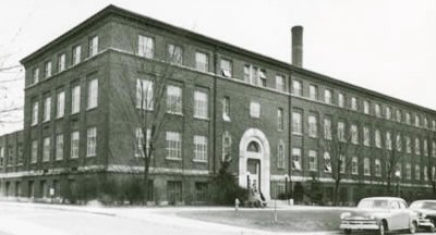 Engineering Administration Bldg, original home of First-Year Engineering