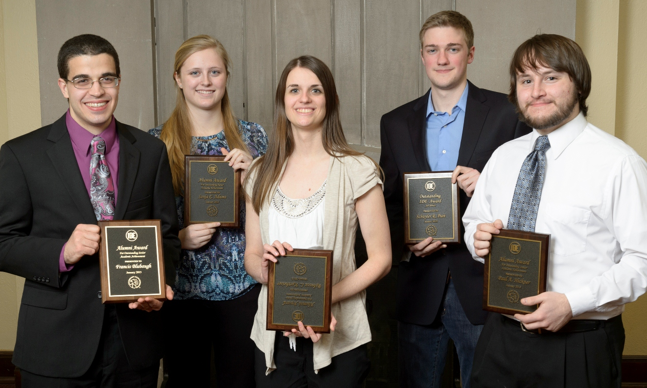 2015 IDES/MDE student award winners