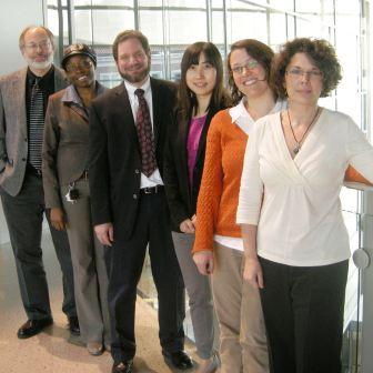 Rick Zadoks with doctoral students