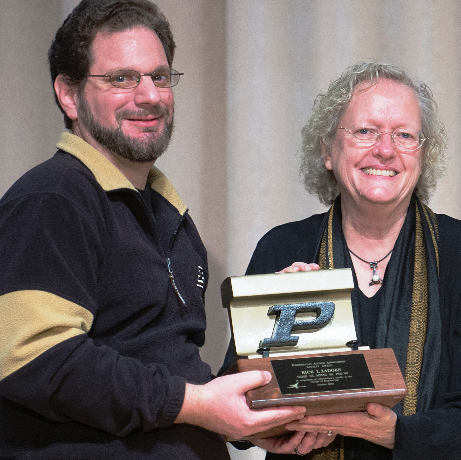 Rick Zadoks and Dean Leah Jamieson