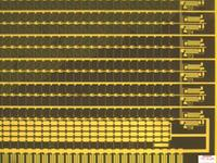 Purdue University researchers are developing tools to help industry efficiently recycle millions of flat-screen monitors and television sets expected to become obsolete soon. The monitors contain hazardous - as well as valuable - materials. In this picture, the lines and dots in a drive circuit contain indium, which sells for about $600 per kilogram.