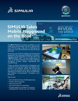 Photo of SIMULIA tour graphic