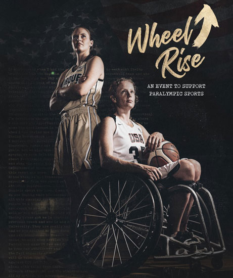 Wheel Rise Event Poster with Shelby Gruss