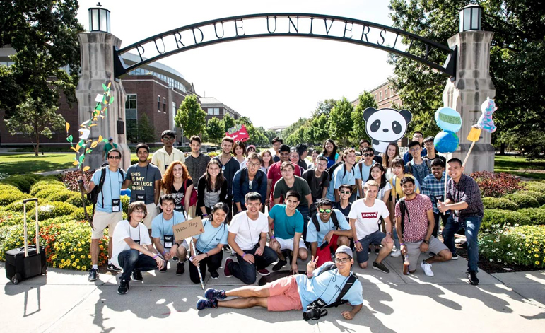 hail purdue boiler gold rush wrap up college of engineering purdue university
