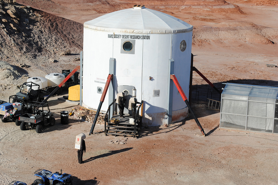 Living on Mars: Purdue team to lead simulation facility mission