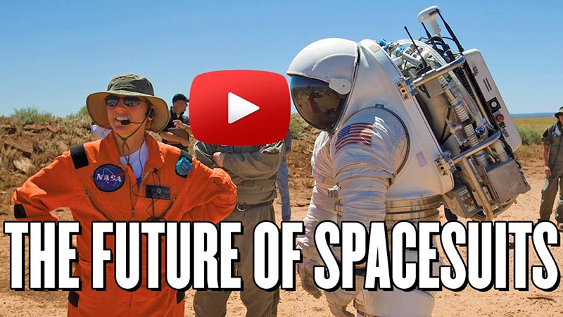 Amy Ross: The Future of Spacesuits with Play button on image